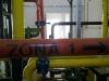 Detalj instalacije grejnog sistema